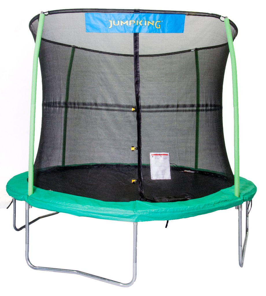 JUMPKING 10Ft Trampoline With Safety Net