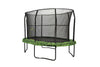 Image of Oval Trampoline & Enclosure 8x12ft with graphic pad by JumpKing