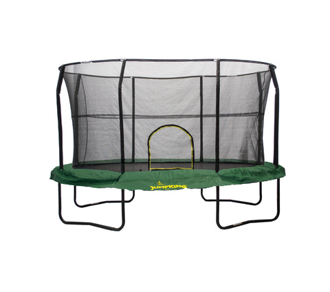 Oval 8x12ft Trampoline with Enclosure by JumpKing