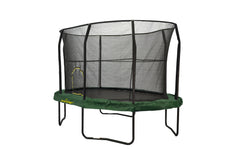JumpKing Oval 8 x 12ft Trampoline with Enclosure
