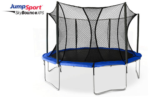JumpSport SKYBOUNCE XPS 12' TRAMPOLINE WITH ENCLOSURE