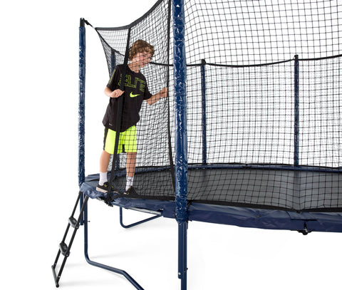 Elite PowerBounce 14ft Trampoline with Enclosure by Jump Sport enclosure door