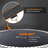 Image of ExacMe 14FT 15FT Outdoor Backyard Round Trampoline with Outer Enclosure Net and Ladder, S14 S15