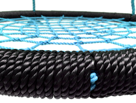 "40"" Net Tree Swing, Black and Blue by SkyBound"