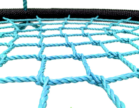 "Giant 40"" Net Tree Swing, Black and Blue by SkyBound close up"