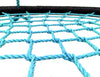 "Image of Giant 40"" Net Tree Swing, Black and Blue by SkyBound close up"