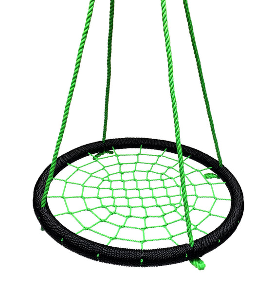 """SkyBound Trampolines Giant 40"""" Net Tree Swing, Black And"""