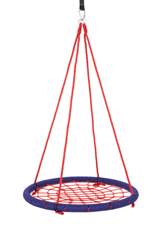 "SkyBound USA Trampolines Giant 40"" Net Tree Swing, Navy Blue and Bright Red"