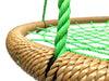 "Image of SkyBound Trampolines Giant 40"" Net Tree Swing, Brown and Forest Green"