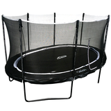 10X14FT ORION OVAL TRAMPOLINE WITH FULL 8 POLE ENCLOSURE SYSTEM