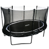 Image of 10X14FT ORION OVAL TRAMPOLINE WITH FULL 8 POLE ENCLOSURE SYSTEM