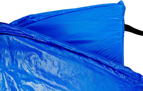 SkyBound 15 Foot Blue Trampoline Pad (fits up to 8 Inch springs) - Standard
