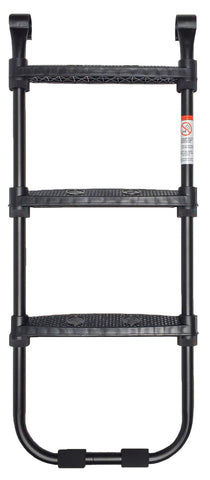SkyBound 3-Step trampoline ladder  Black