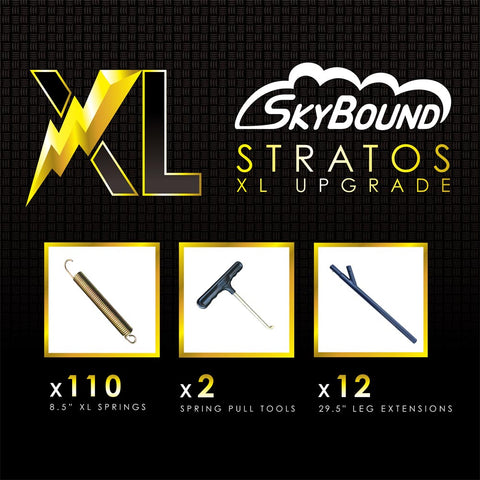 SkyBound 14ft Stratos XL trampoline assembly tools