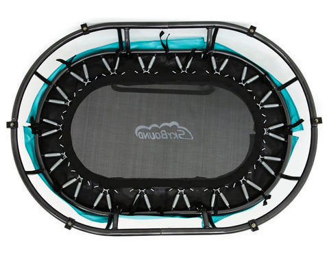SkyBound 4ft Oval Mini Sensory trampoline bottom view