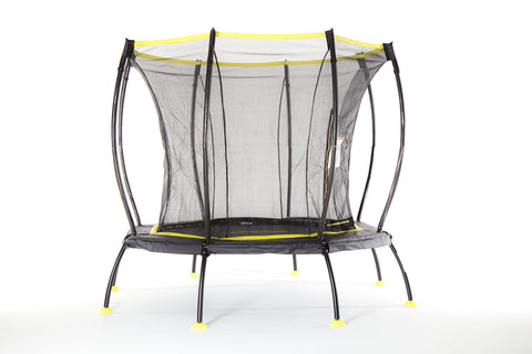 bounciest trampoline skybound 8ft atmos black and yellow