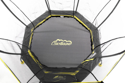"SkyBound ""Atmos"" 8 ft Trampoline top view"