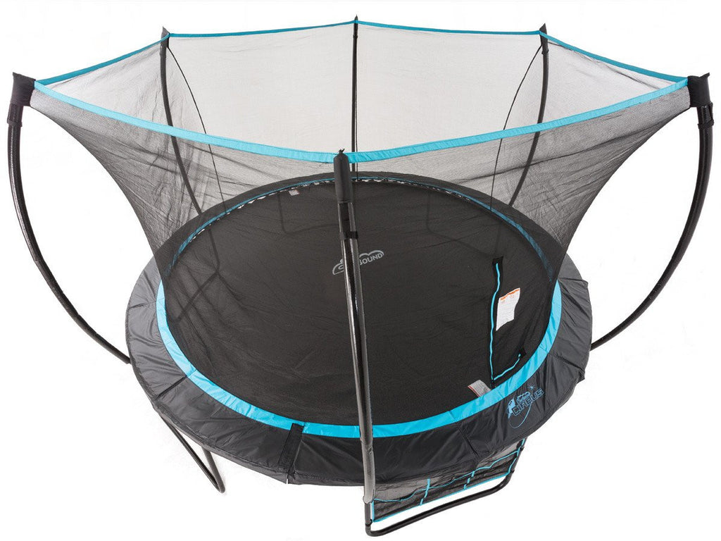 Skybound Cirrus 14ft Trampoline Top Ring Enclosure System New Model I Want To Jump Com