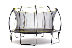 SkyBound Stratos 14 ft trampoline with enclosure