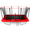Image of SkyBound Horizon 11 x 18 ft Rectangle Trampoline Red Spring Pad