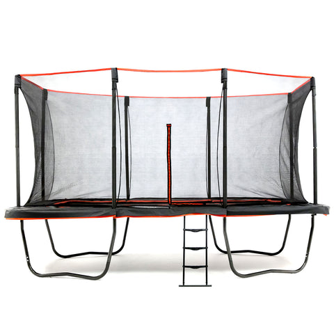 SkyBound Horizon 11 x 18 ft Rectangle Trampoline side view