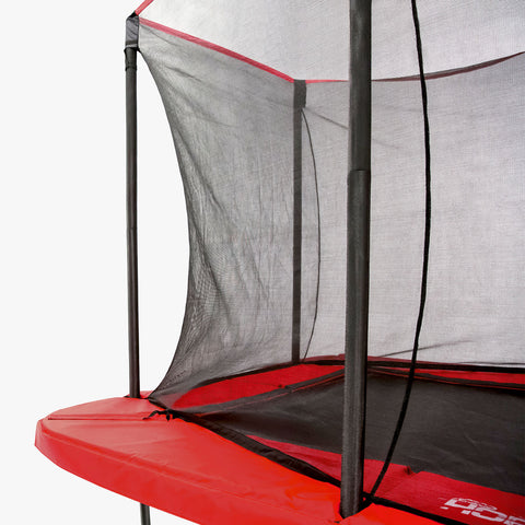 SkyBound Horizon 11 x 18 ft Rectangle Trampoline enclosure completely assembled