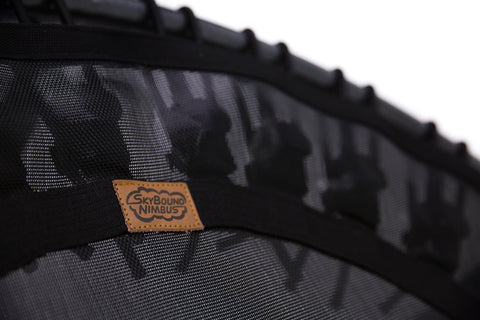 Nimbus Fitness trampoline by SkyBound under side bungees