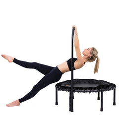 SkyBound Nimbus Fitness Bungee Cord Mini Trampoline with Handlebar