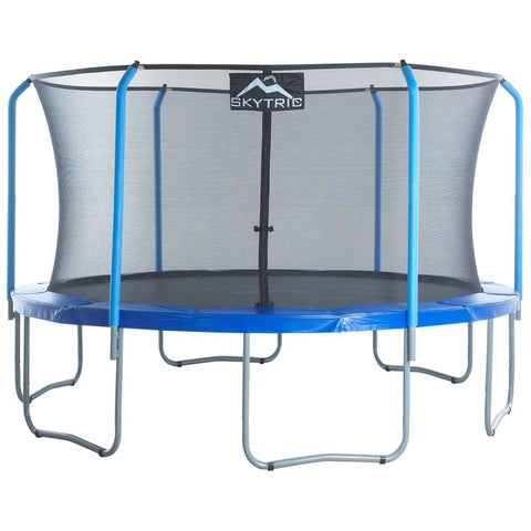 SKYTRIC 15 FT. Tr&oline with Top Ring Enclosure System equipped with the EASY ASSEMBLE FEATURE  sc 1 st  I Want to Jump & Upper Bounce Trampolines For the Whole Family u2013 I Want to Jump