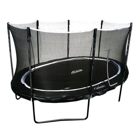 Orion Oval 11x16ft Trampoline with Enclosure by SkyBound.