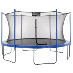 upper bounce 16ft trampoline with enclosure