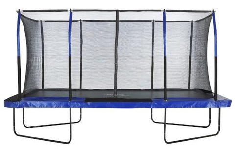 Mega 8ft X 14ft Rectangular Trampoline from Upper Bounce Easy Assembly