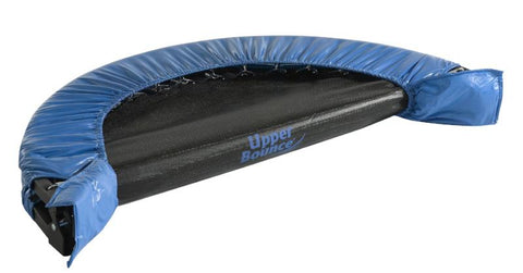 Fitness trampoline foldable