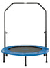 Image of 40 inch Mini Foldable Fitness Rebounder with Handrail