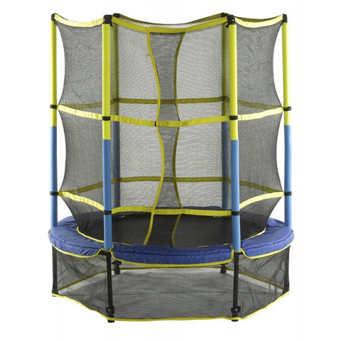 "Upper Bounce Kid friendly 55"" trampoline with enclosure"