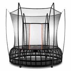 Vuly Thunder 10 ft Medium Trampoline with leaf spring technology and enclosure