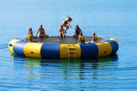 Rave Sports Water Trampoline Aqua Jump 25 Classic with bar