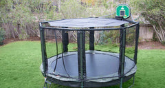 JumpSport SunShade Canopy, Black, Fits 14ft, 12ft Trampoline