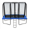 Image of Exacme 7x10FT Rectangle Trampoline with Enclosure Net and Ladder Combo, 6184-0710B/G