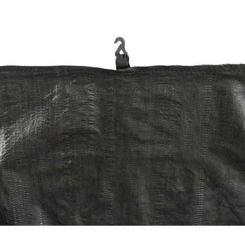Trampoline Weather Protection Cover Fits 10 X 17 FT. Rectangular Frames - Black by Upper Bounce s hooks views