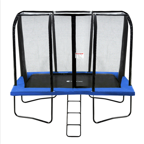 Exacme 7x10FT Rectangle Trampoline with Free Enclosure Net and Ladder Combo, 6184-0710