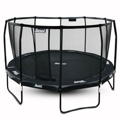 Beast 14 ft Trampoline (BLACK) with Premium Enclosure | NO WEIGHT LIMIT