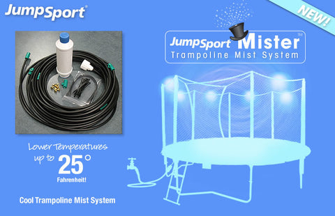 JumpSport Trampoline Mist System For the Hot Summer Months