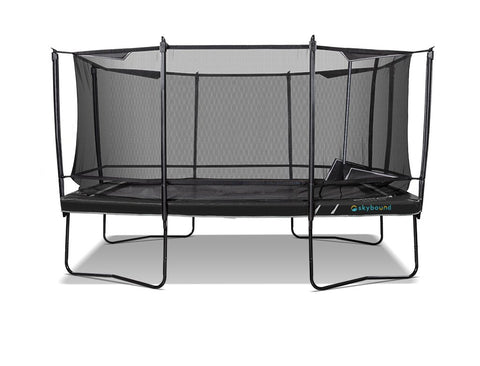 Skybound Explorer 15Ft Rectangular Trampoline with Enclosure