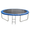 Image of ExacMe Outdoor Trampoline 16 15 14 13 12 10 8 Foot with Safety Spring Cover, T-series 6180 T008-T016
