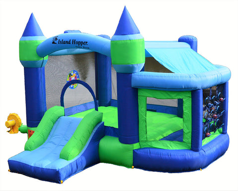 Island Hopper Shady Play Game Room Bounce House