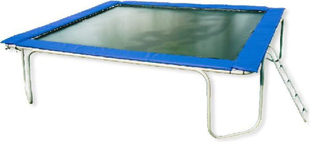 15x15 Square Trampoline by Texas Trampolines
