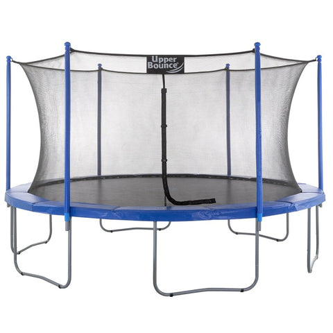 15ft Round Trampoline with Enclosure