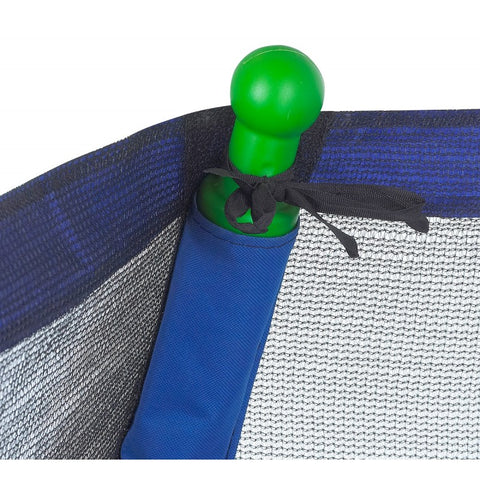 7ft Classic round INDOOR/OUTDOOR Trampoline enclosure pole caps