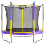 9 foot round trampoline Upper Bounce multi colored